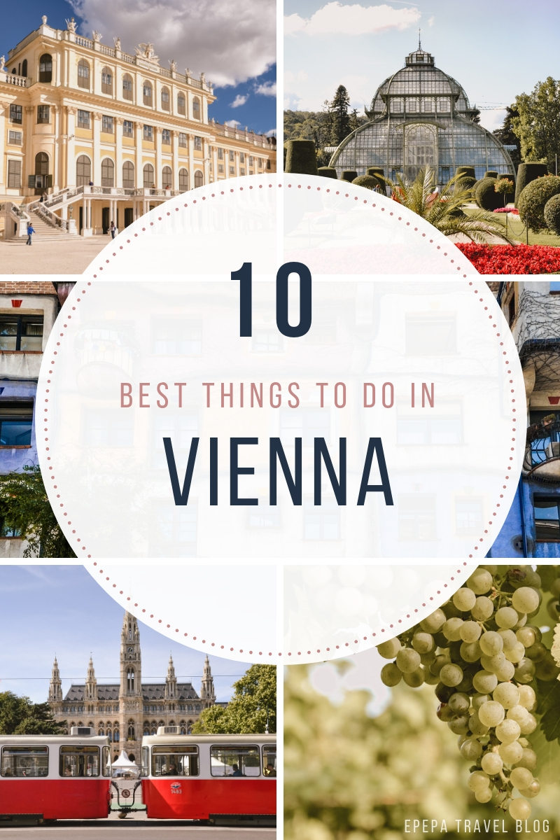 TOP 10 best things to do in Vienna, Austria with insider tips - from travel blog https://Epepa.eu