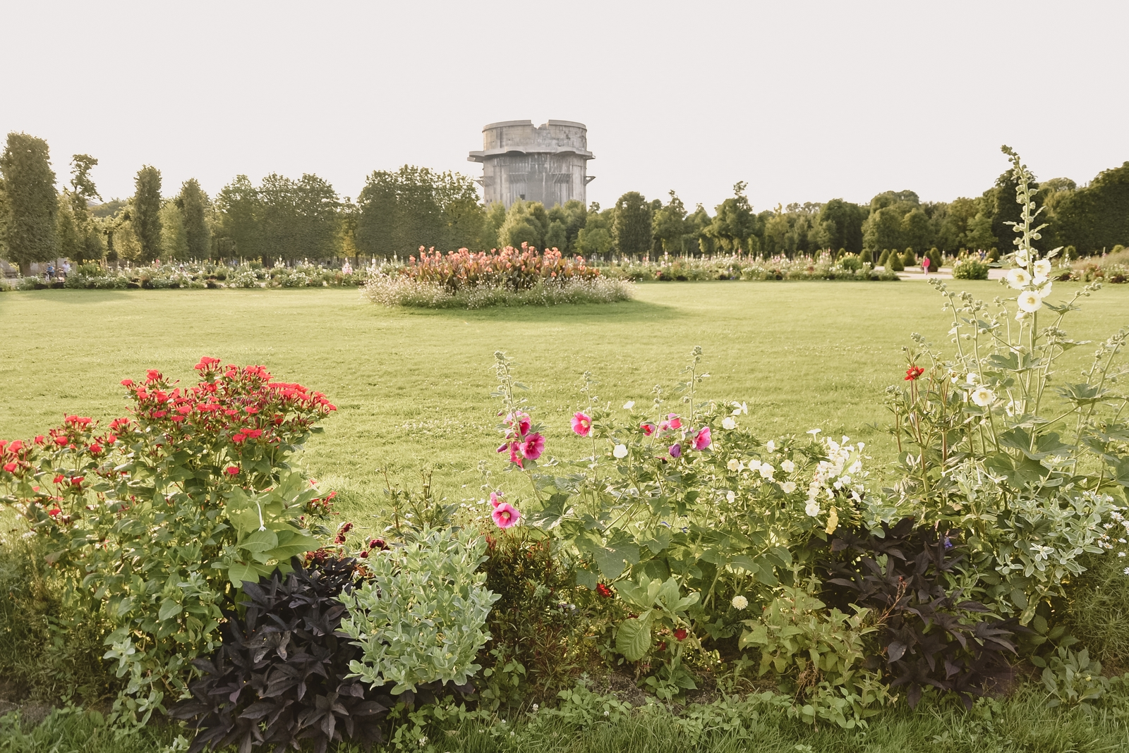 Vienna Flak Tower in Augarten Park, one of the top 10 strangest buildings in Vienna - from travel blog: http:/Epepa.eu