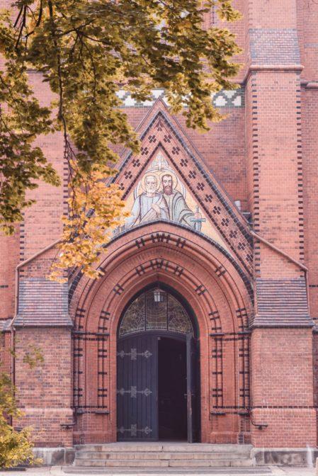 The Cathedral Church of St. Peter and Paul (Katedra Świętych Apostołów Piotra i Pawła), Gliwice, Poland