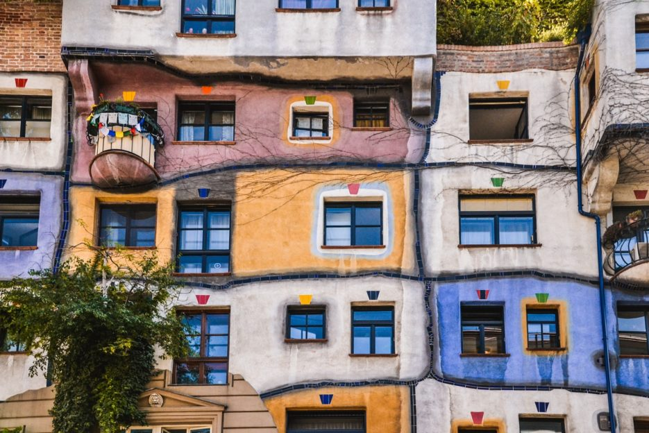 Top 10 strangest buildings in Vienna - from travel blog: https:/Epepa.eu
