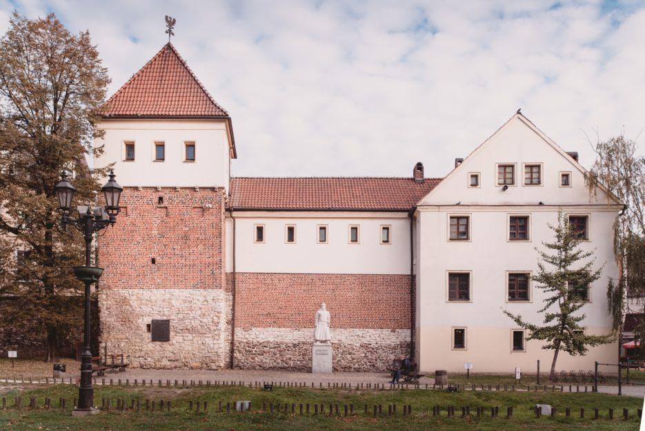 The Piast Castle (Zamek Piastowski) in Gliwice, Poland