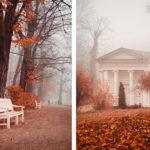 An autumn weekend in Warsaw, Poland