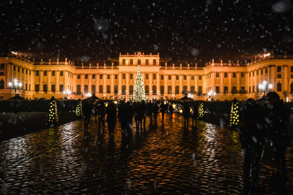 The Christmas and New Year's Market at Schönbrunn Palace, Vienna