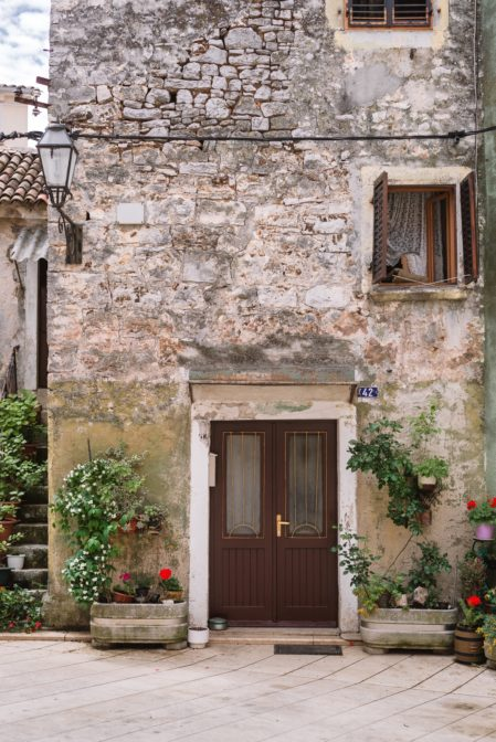 Old stone house in Vodnjan, Istria, Croatia