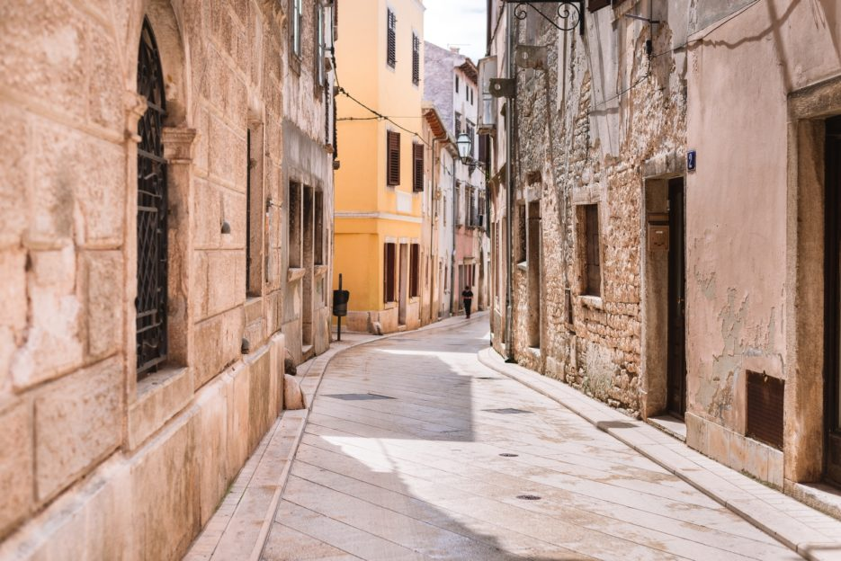 Vodnjan, an authentic and non-tourist small town in Istria