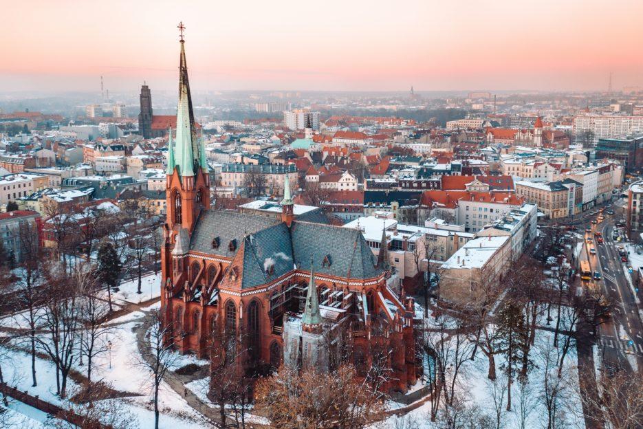 Katedra pw. Świętych Apostołów Piotra i Pawła (the Cathedral Church of St's. Peter and Paul), Gliwice, Poland