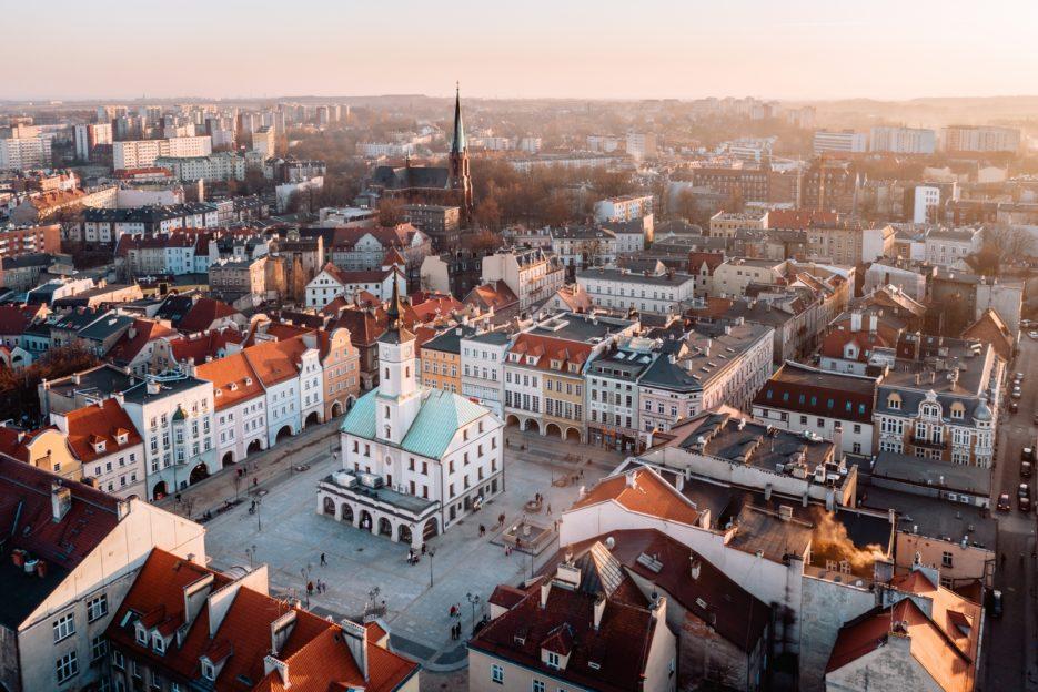 Rynek Gliwice, Poland