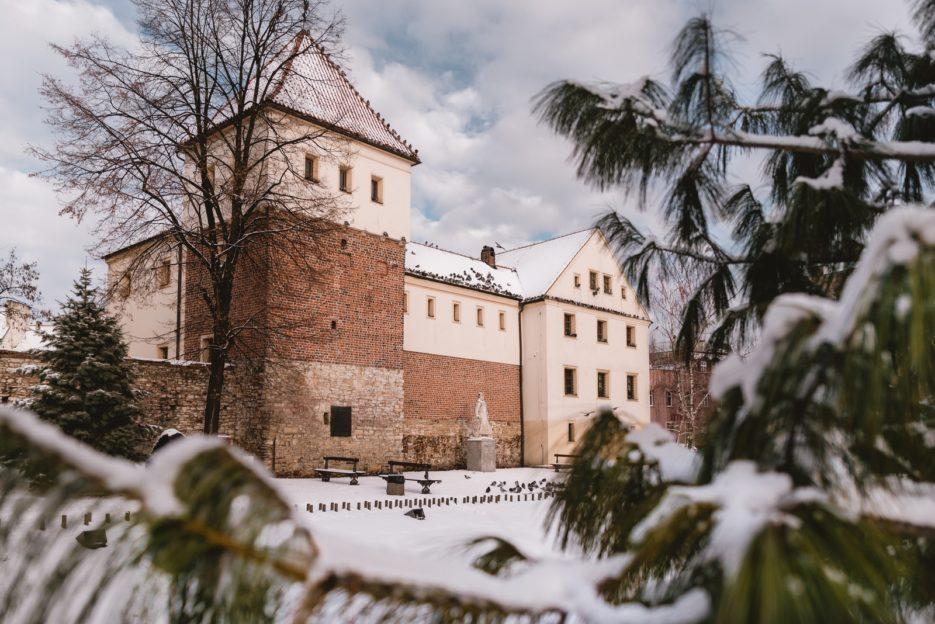 Zamek Piastowski (the Piast Castle) in Gliwice, Poland
