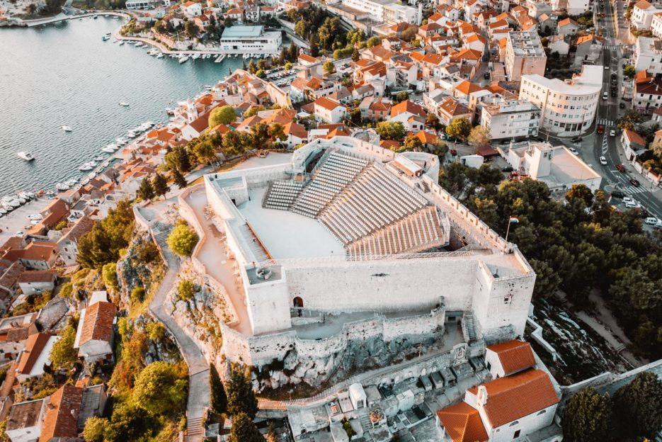 St. Michael's Fortress (Tvrđava sv. Mihovila), Šibenik, Croatia