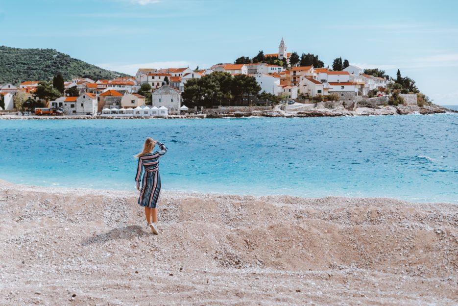 The best beaches in Croatia are in Primošten