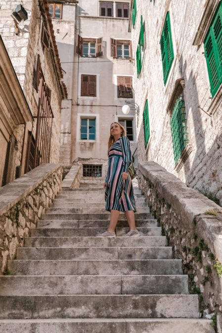 The old town of Šibenik is one of the best photography and Instagram spots in Croatia
