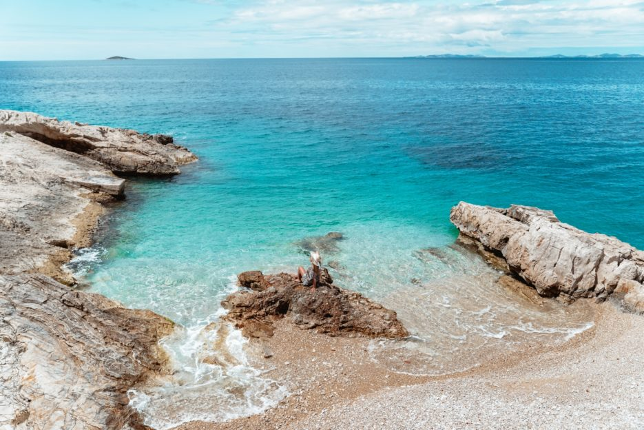 The best beaches in Primošten, Croatia