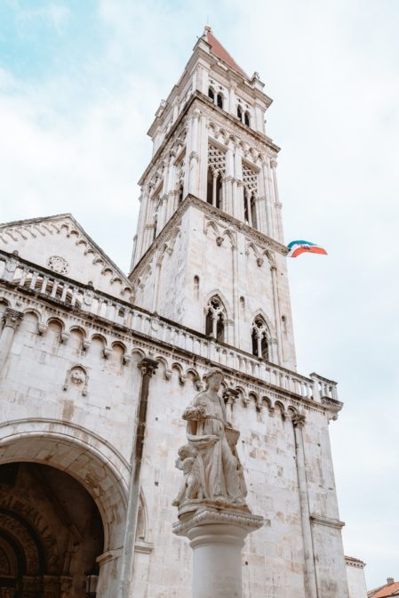 The Cathedral of St. Lawrence (Katedrala sv. Lovre), one of the best things to see in Trogir, Croatia