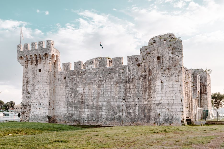 The Kamerlengo Fortress (Tvrđava Kamerlengo) is one of the best things to see in Trogir, Croatia