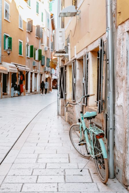 One of the best things to do in Rovinj is to explore its coast by bike