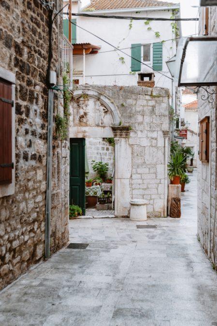 The old town of Trogir, Croatia