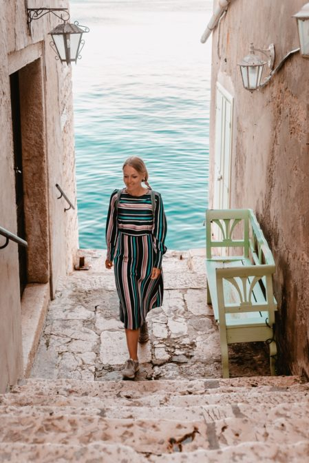 The old town of Rovinj is full of beautiful nooks and crannies