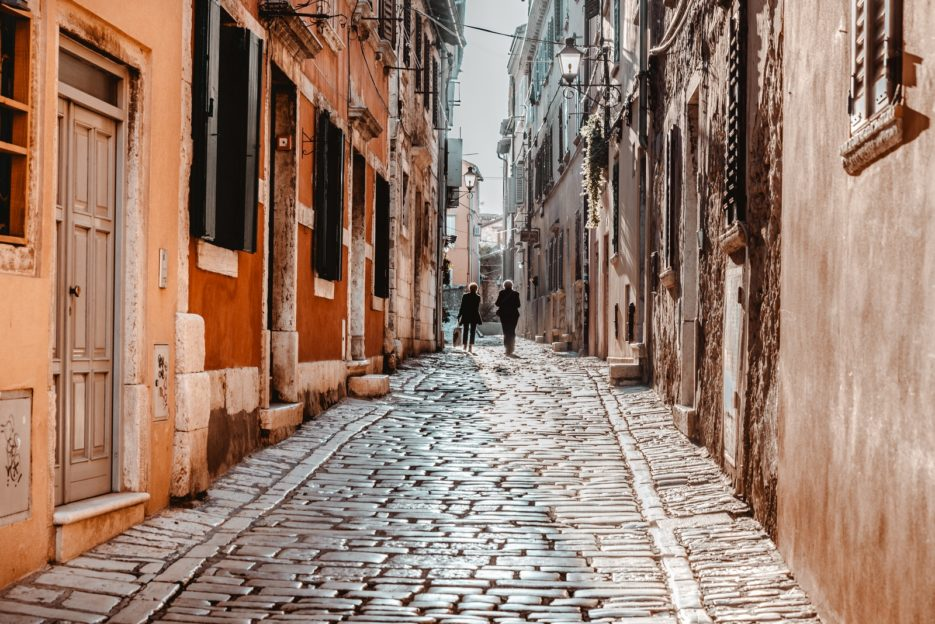 One of the best things to do in Rovinj is to get lost in its narrow streets