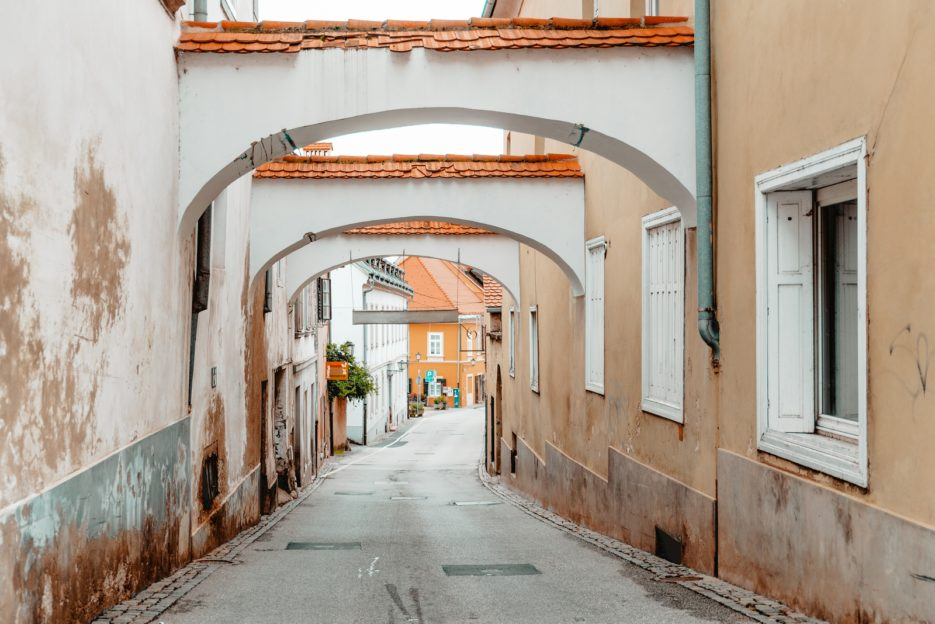 One of the best things to do in Ptuj, Slovenia is to get lost in the maze of winding streets of the old city