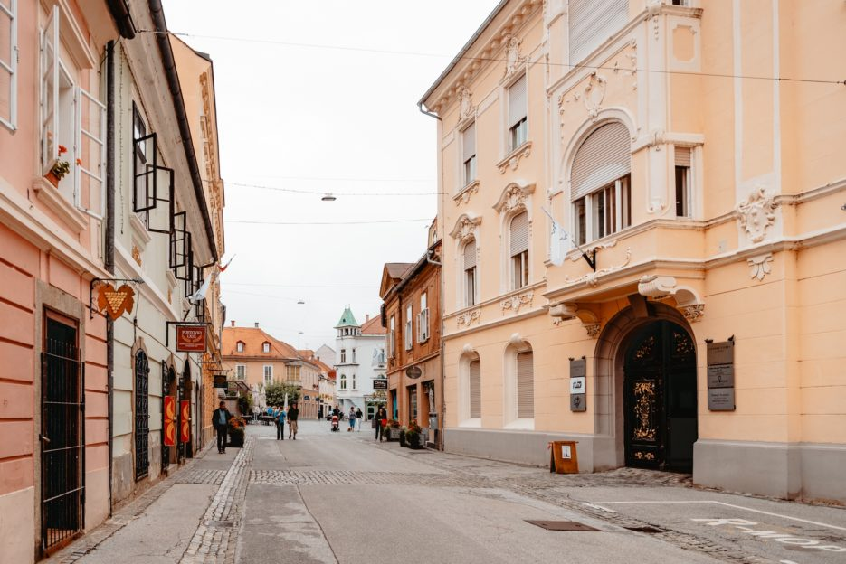 When walking around Ptuj, be sure to see the beautiful Austro-Hungarian architecture