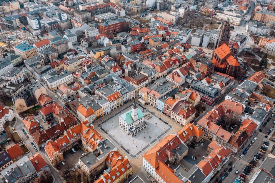 Gliwice Market Square, Poland
