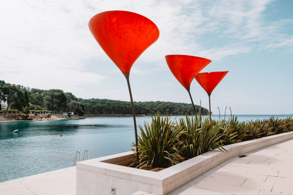 A walk along the seaside promenade in the Čikat Bay is one of the best things to do Mali Lošinj, Croatia