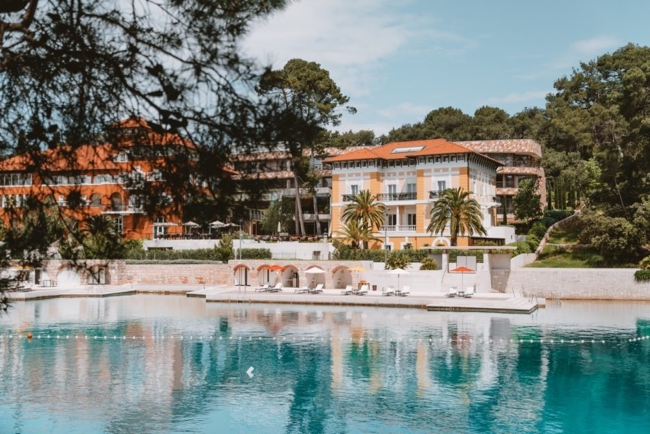 The historic villas of the Austro-Hungarian aristocracy in the Čikat Bay, Mali Lošinj, Croatia