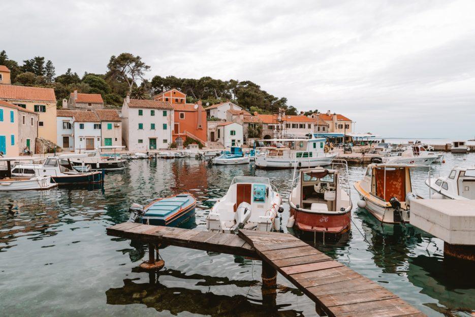 Rovenska Bay, Veli Lošinj, Croatia
