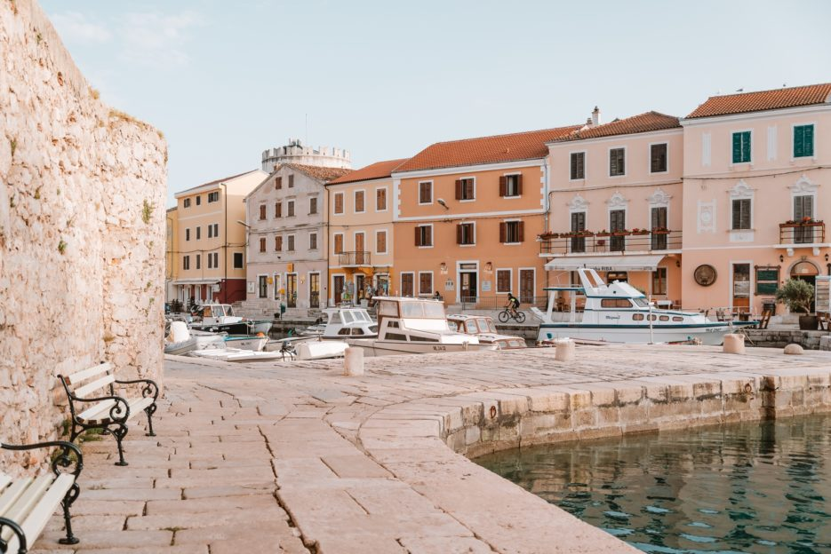 Visiting the port and the tower is one of the best things to do in Veli Lošinj, Croatia