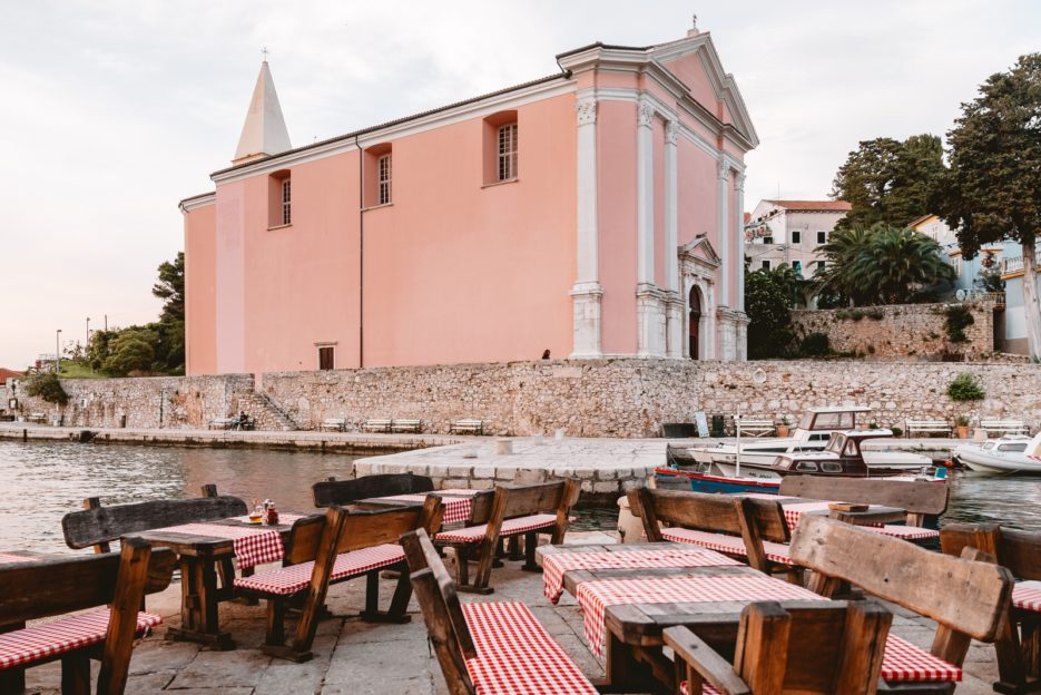 Visiting the parish church of St. Anthony the Abbot is one of the best things to do in Veli Lošinj, Croatia