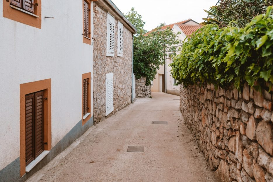 A walk around the upper village is one of the things to do in Veli Lošinj, Croatia