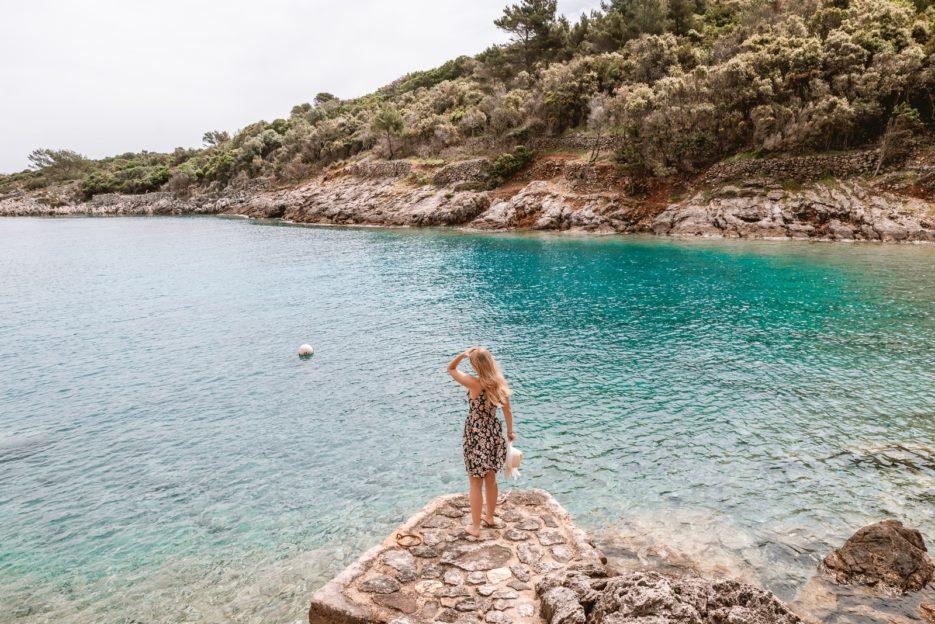 Jamna Bay near Veli Lošinj, Croatia
