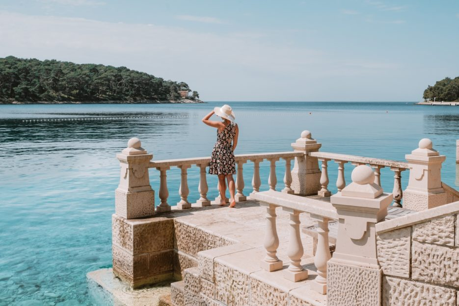 Visiting the Čikat Bay is one of the best things to do in Mali Lošinj, Croatia