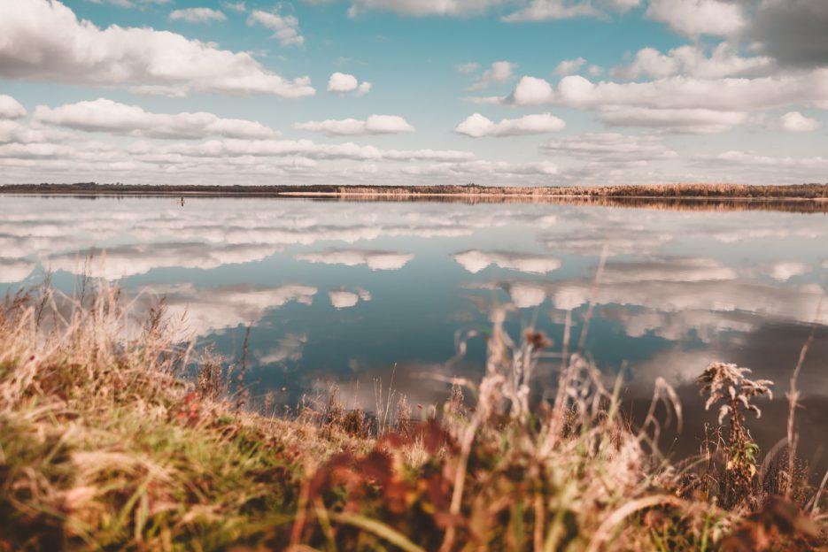 Kozłowa Góra water reservoir (Lake Świerklaniec), Upper Silesia, Poland