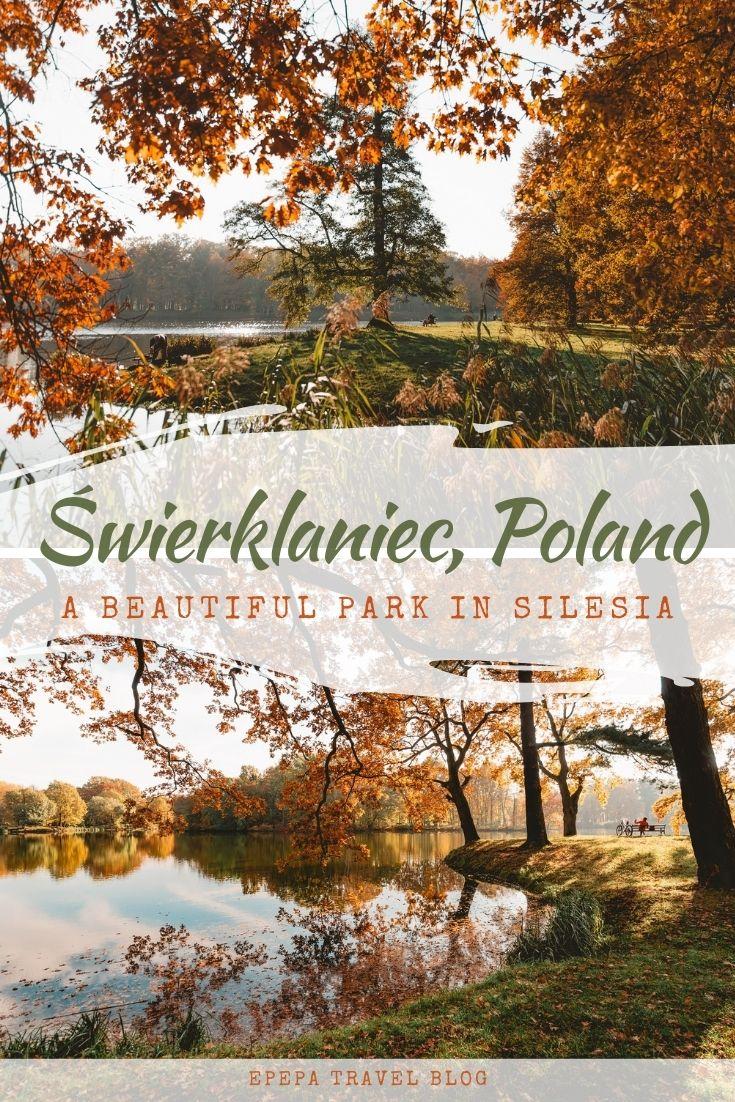 Świerklaniec Park, the most beautiful park in Upper Silesia, Poland